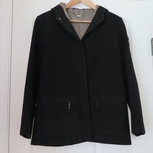 NEXT UK - Wool and cashmere hooded coat